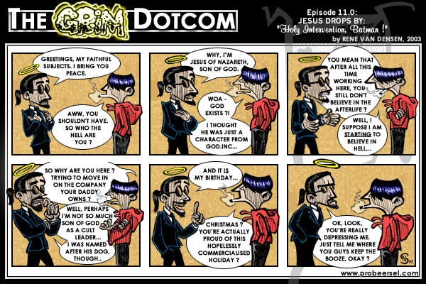 The Grim DotCom, episode 11.0