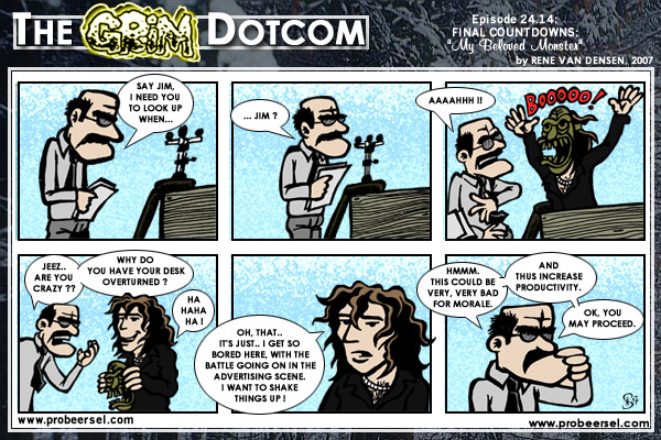 The Grim DotCom, episode 24.14