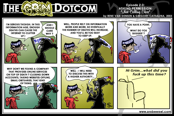 The Grim DotCom, episode 2.0