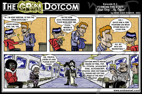 The Grim DotCom, episode 9.1