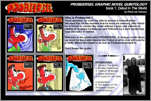 Probeersel book 1, Back Cover