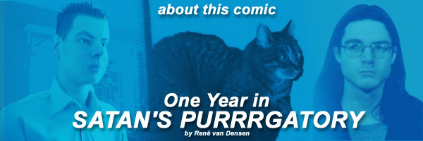 About the comic A Year In Satan's Purrrgatory